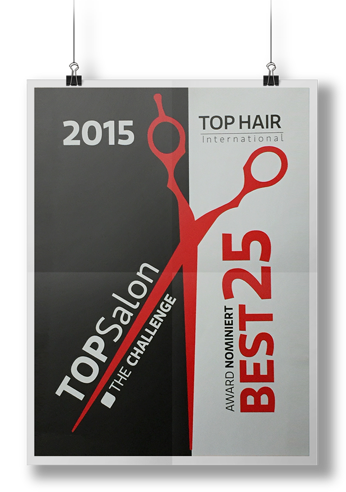 Hair Design Wesselmann unter den 25 TOP-Salons Deutschlands
